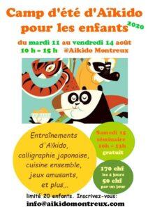 Aikido Kids Summer Camp 2020 @ Aikido Montreux