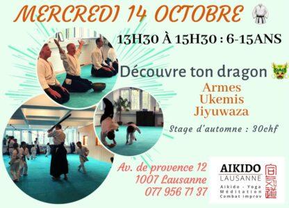 Kids Seminar!! Discover your Dragon @ Aikido Lausanne