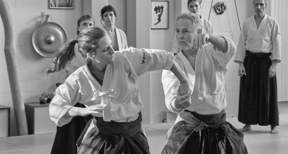 Seminar in Uster with Patrick @ Aikido Unlimited